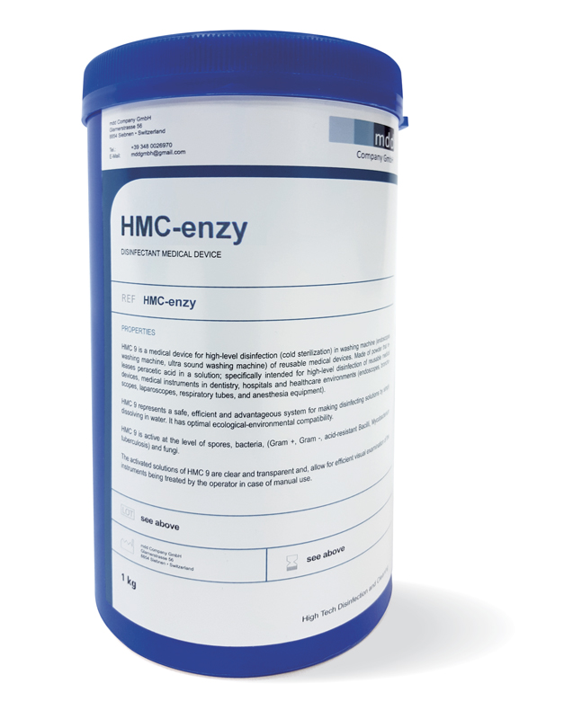 Chemical disinfection HMC Enzy